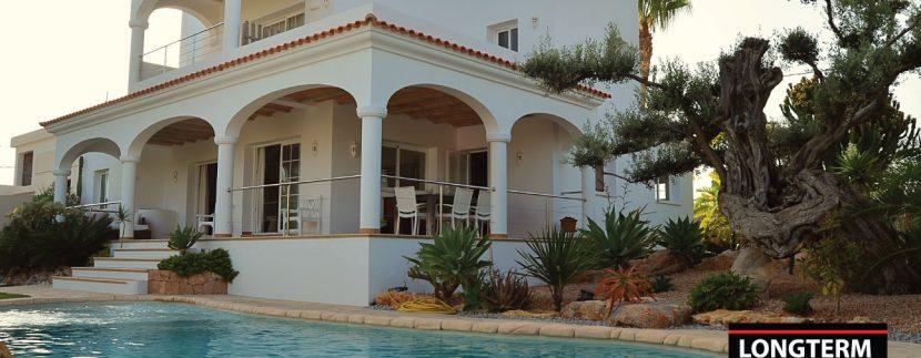 Villa Garden long term rental ibiza