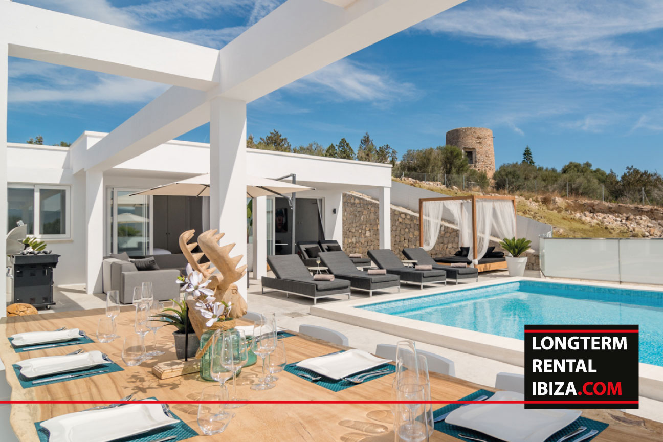 Villa Martinet long term rental ibiza