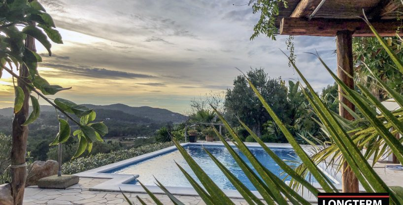 Long term rental ibiza Villa Carlossa