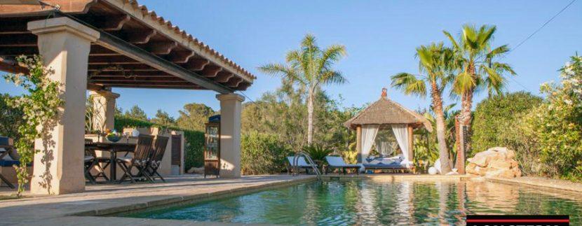 long term rental ibiza villa Cova