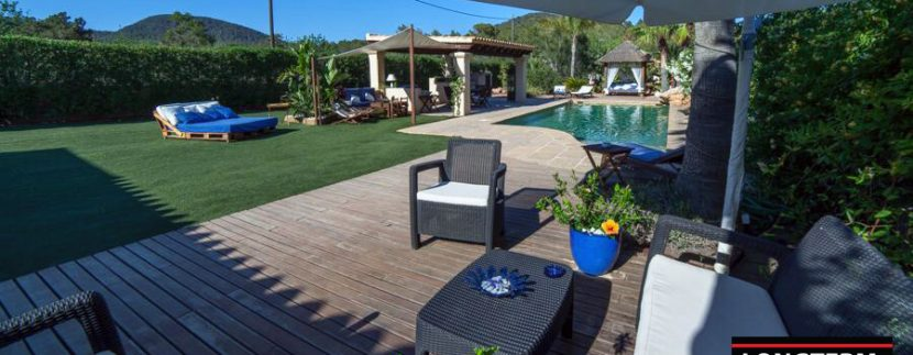 long term rental ibiza villa Cova 1