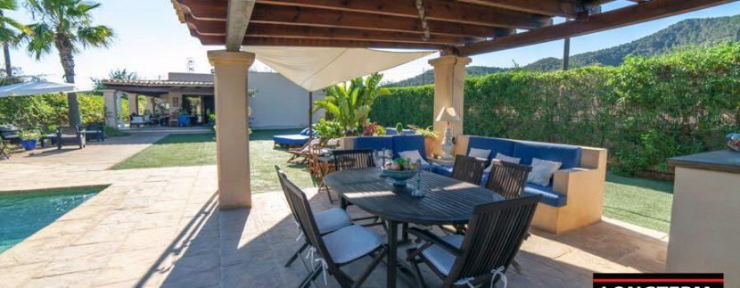 long term rental ibiza villa Cova 4
