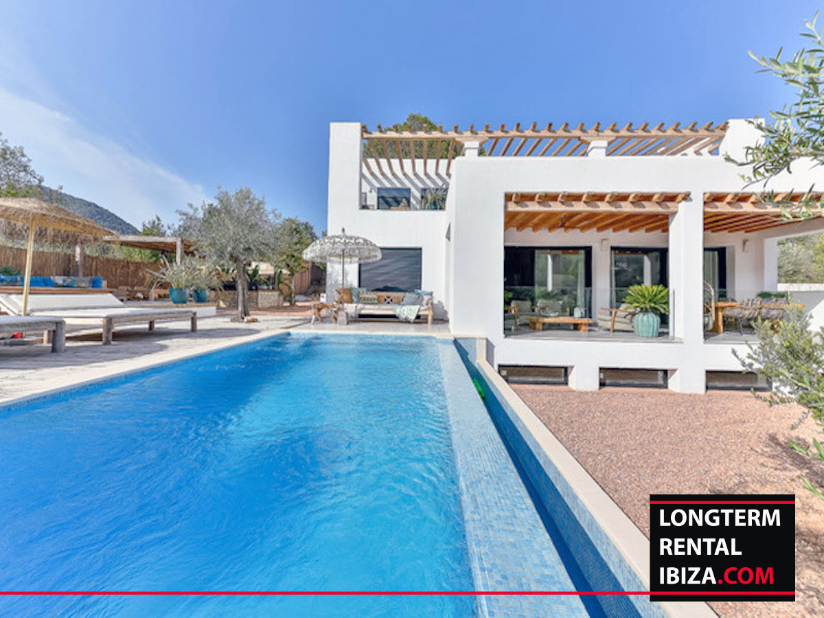 Long term rental Ibiza - Villa Flatiron - with touristic license