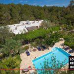 Villa Secluda, longterm rental ibiza. annual rental ibiza. Todo el ano.