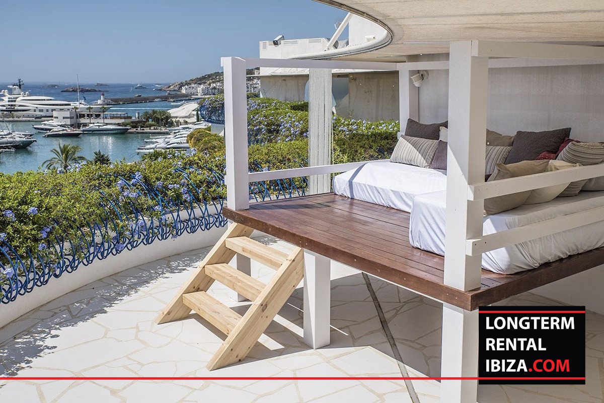 Long term rental Ibiza - Penthouse Las boas Amnesia