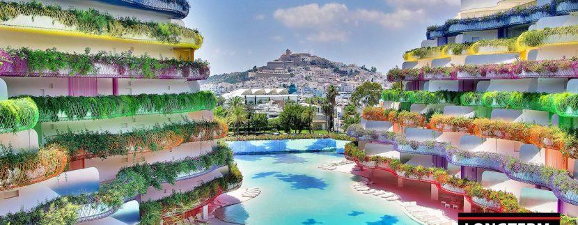 Long term rental Ibiza - Penthouse Las boas Amnesia18