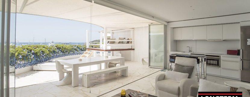 Long term rental Ibiza - Penthouse Las boas Amnesia2