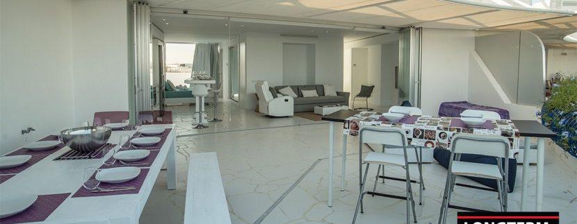 Long term rental Ibiza - Penthouse Las boas Amnesia25