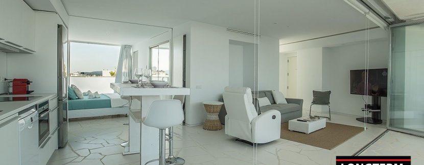 Long term rental Ibiza - Penthouse Las boas Amnesia8
