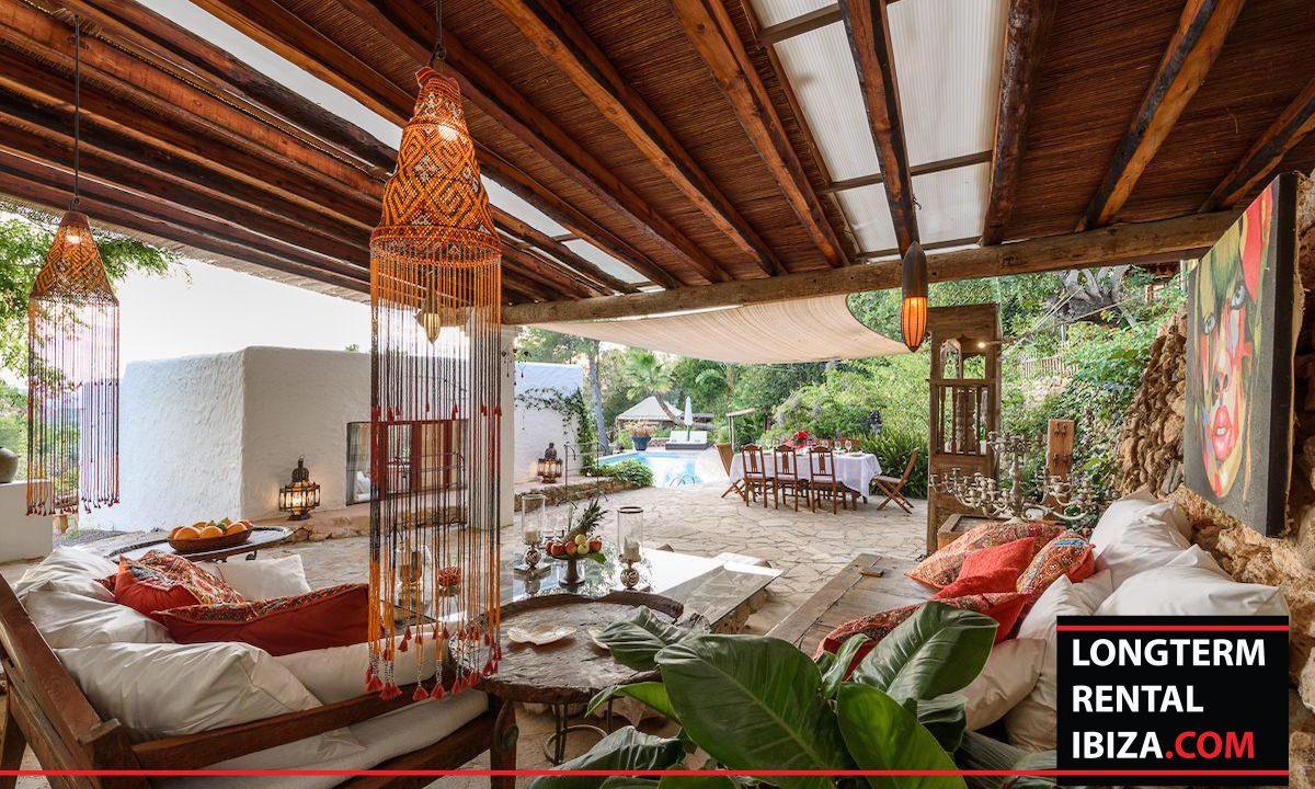 Long term rental Ibiza - Villa Yoga