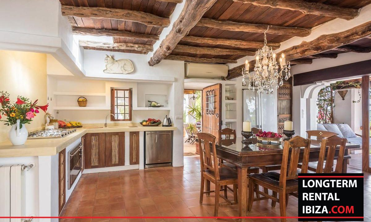 Long term rental Ibiza - Villa Yoga 6