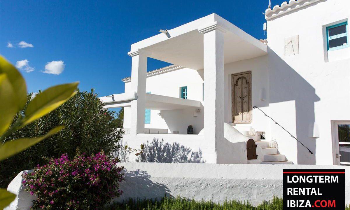 Long term rental Ibiza - FInca Month Blanc 1