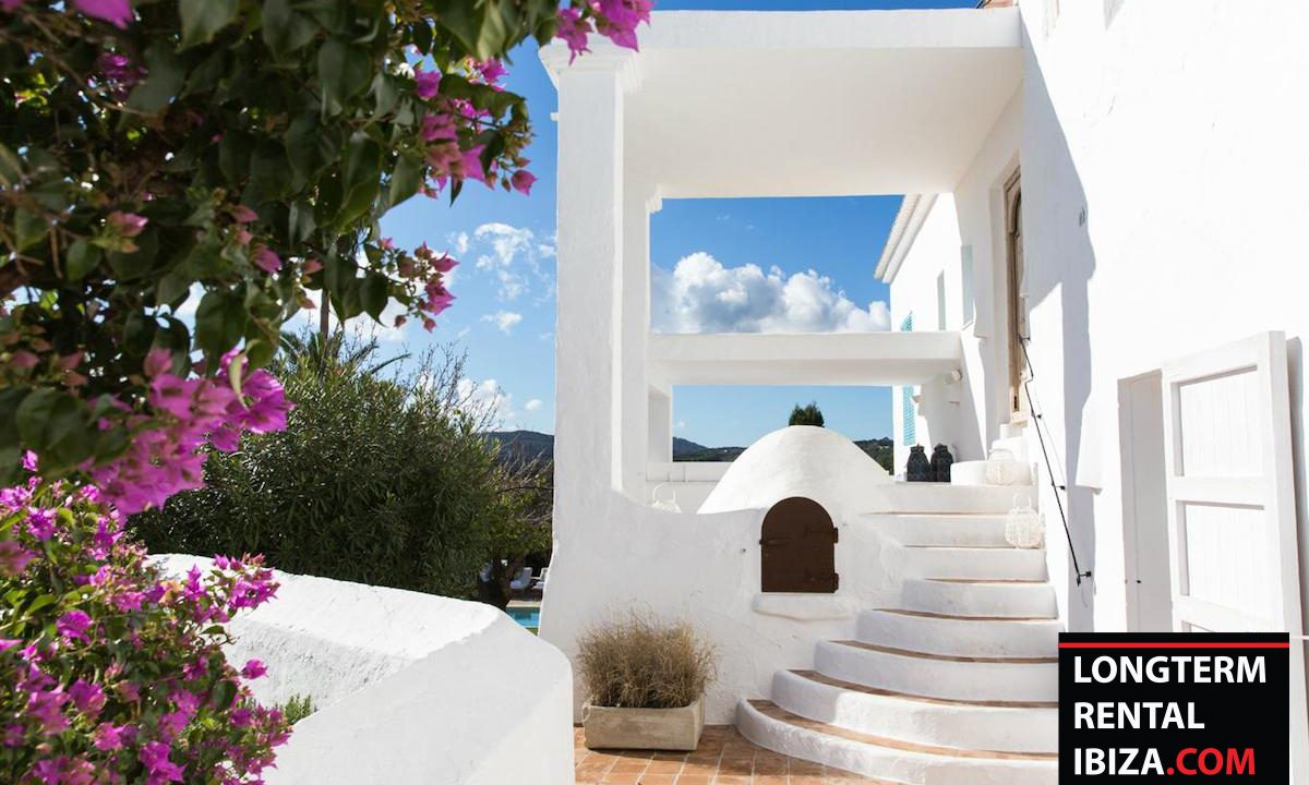 Long term rental Ibiza - FInca Month Blanc 20