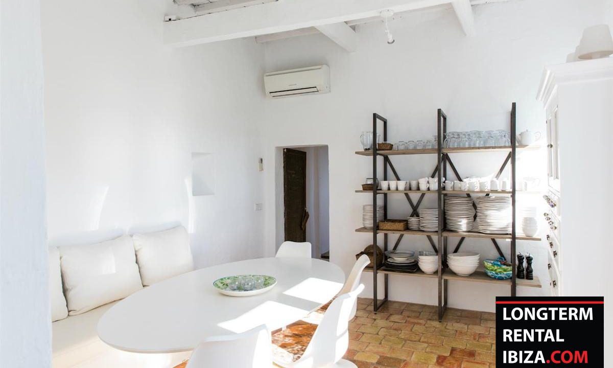 Long term rental Ibiza - FInca Month Blanc 21