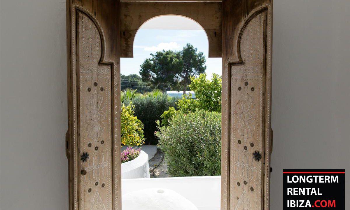Long term rental Ibiza - FInca Month Blanc 24