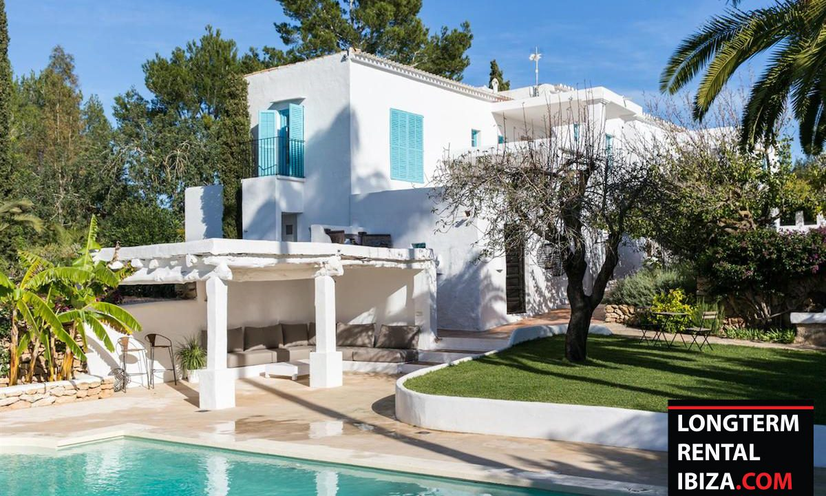Long term rental Ibiza - FInca Month Blanc