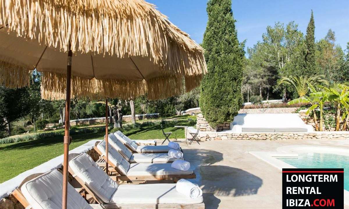 Long term rental Ibiza - FInca Month Blanc 4
