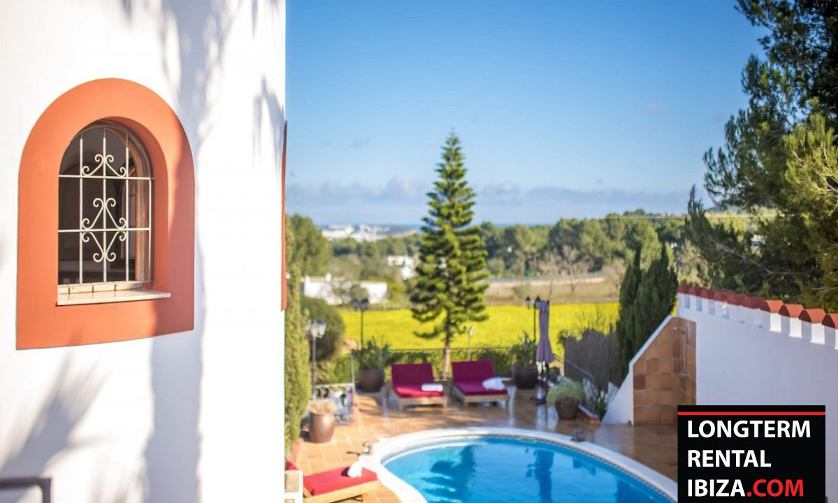 Long term rental Ibiza - Villa Castel 14