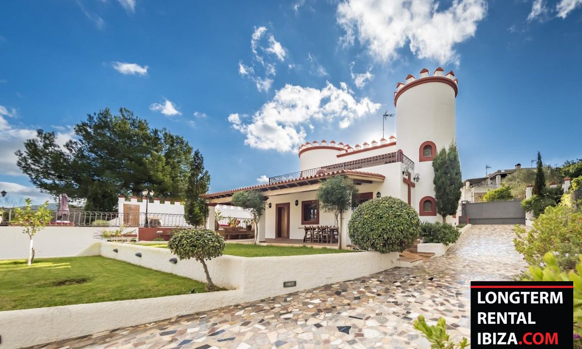 Long term rental Ibiza - Villa Castel 2