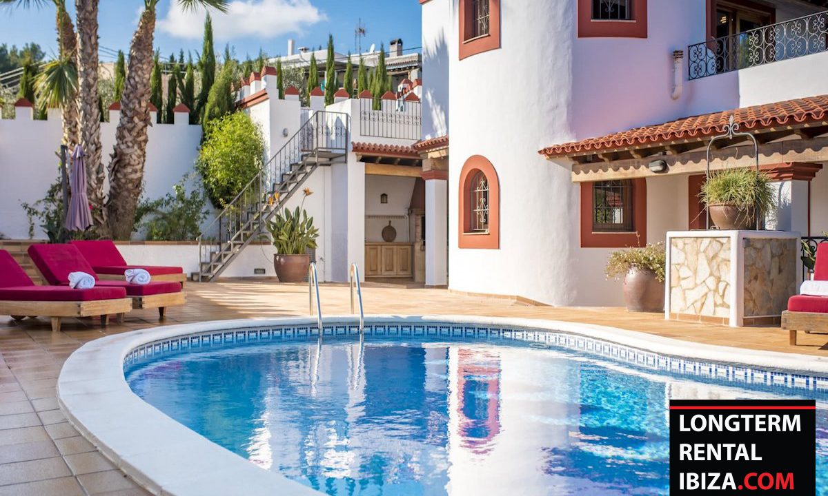 Long term rental Ibiza - Villa Castel 34