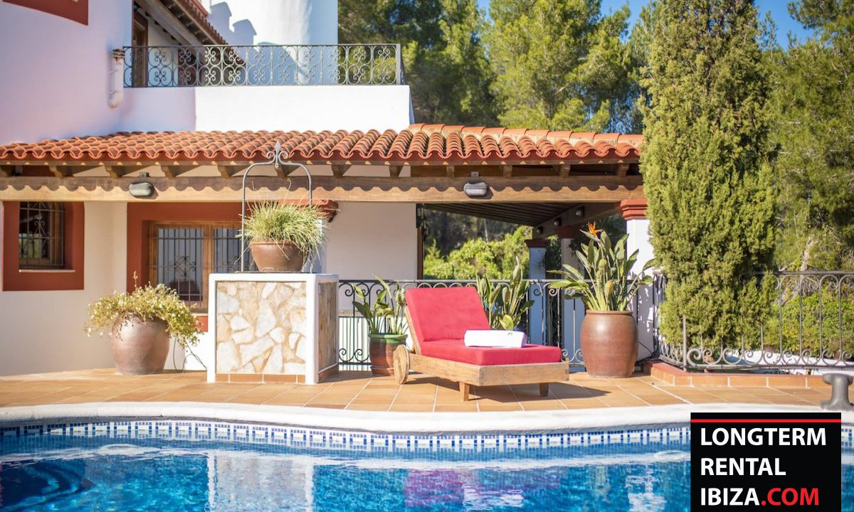 Long term rental Ibiza - Villa Castel 36