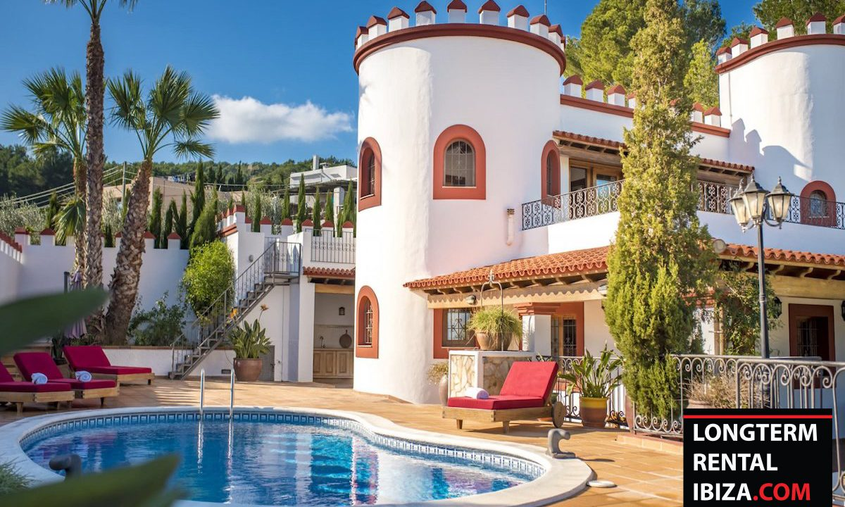 Long term rental Ibiza - Villa Castel 4
