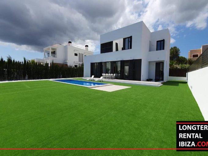 Long term rental Ibzia -villa Abstracta