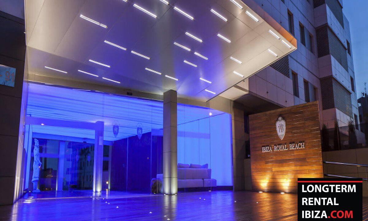 Long term rental Ibiza - Apartment Royal beach