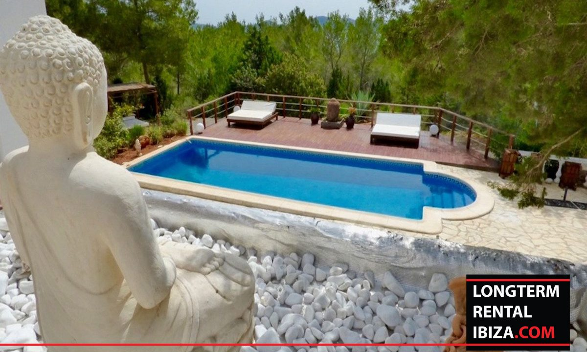 Long term rental Ibiza - Mansion Falco 12