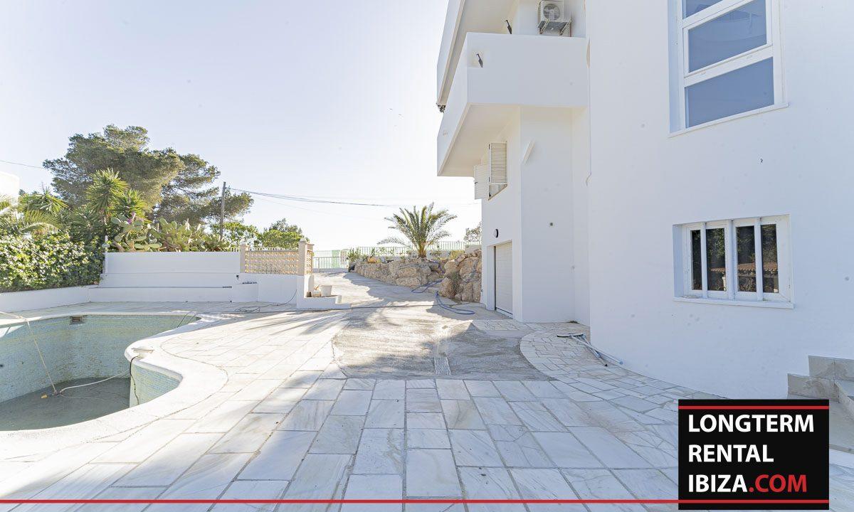 Long term rental ibiza - Villa Maartinet Blanca 28