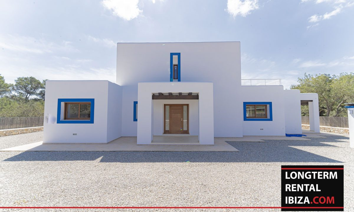 Long term rental ibiza - Villa Black 1