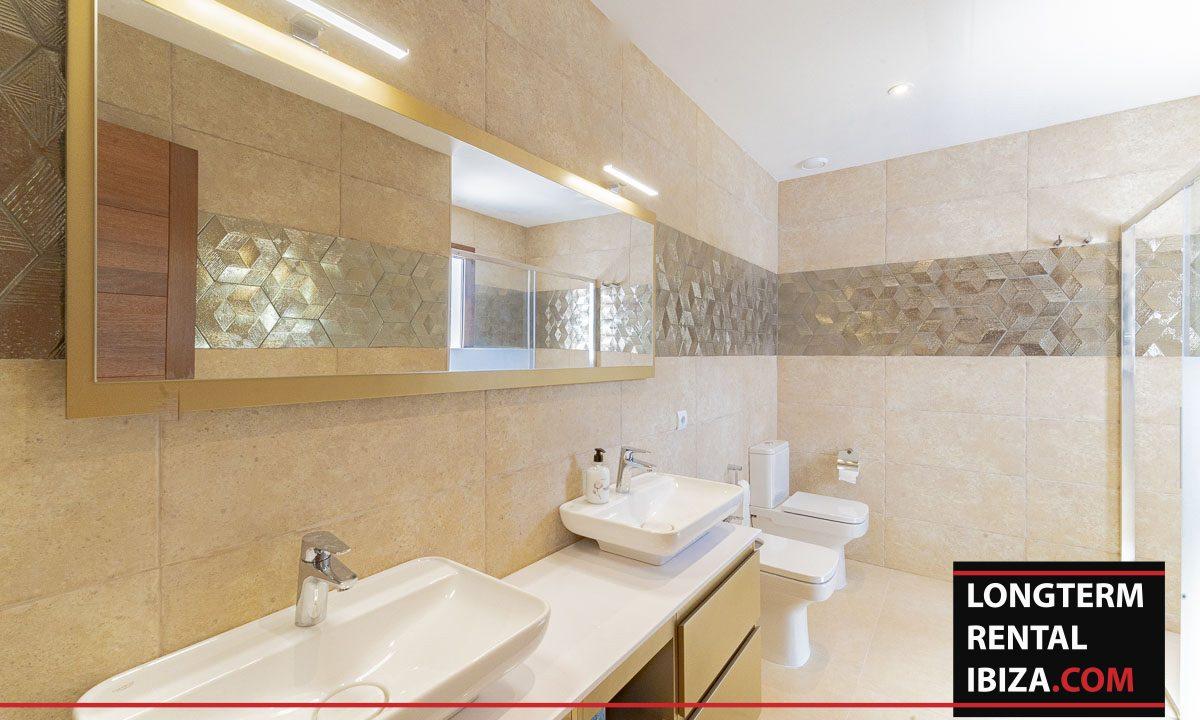 Long term rental ibiza - Villa Black 18