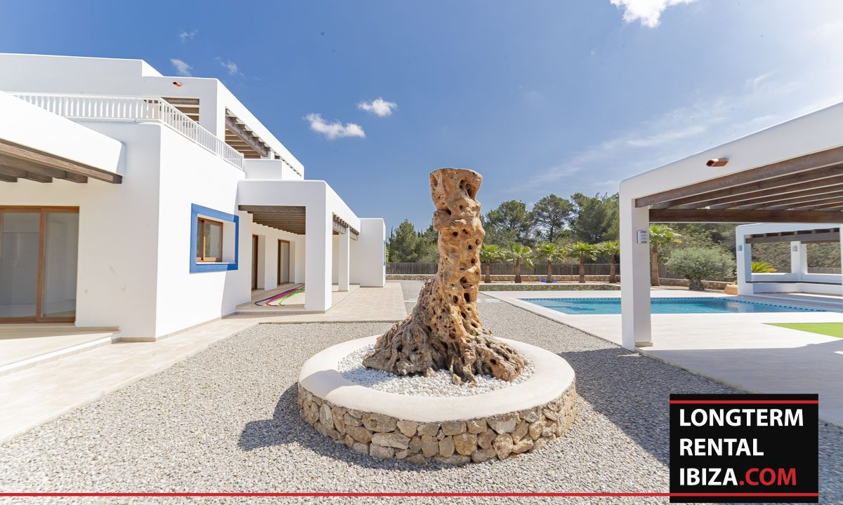 Long term rental ibiza - Villa Black 24