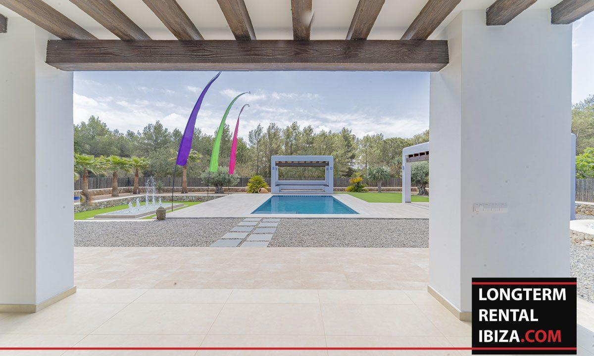 Long term rental ibiza - Villa Black 28