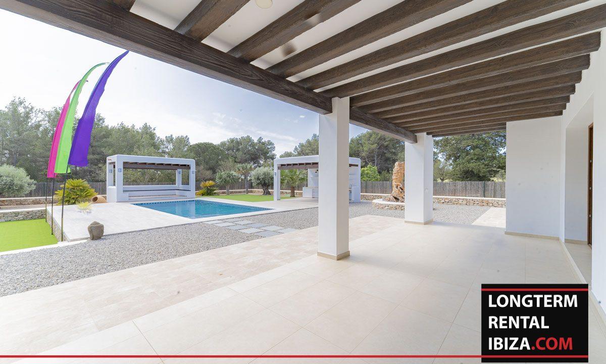 Long term rental ibiza - Villa Black 29