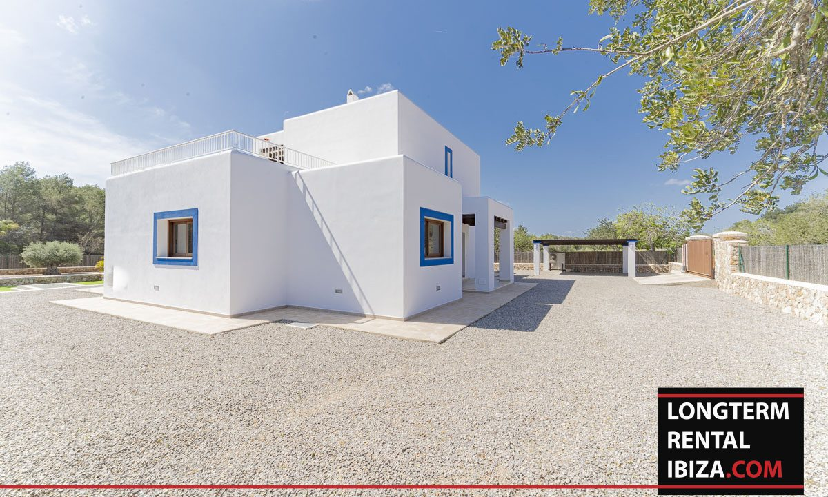 Long term rental ibiza - Villa Black 3