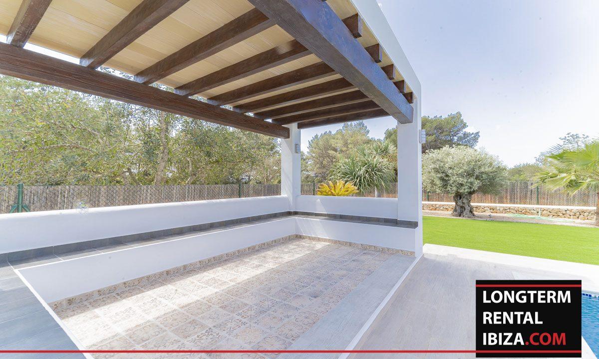 Long term rental ibiza - Villa Black 31