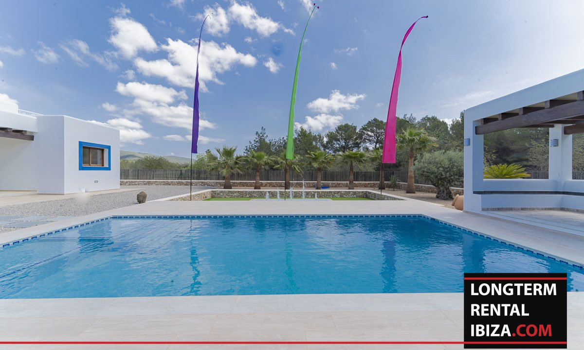 Long term rental ibiza - Villa Black 33