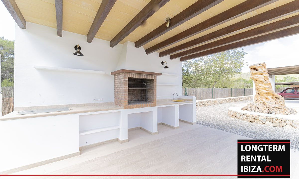 Long term rental ibiza - Villa Black 35