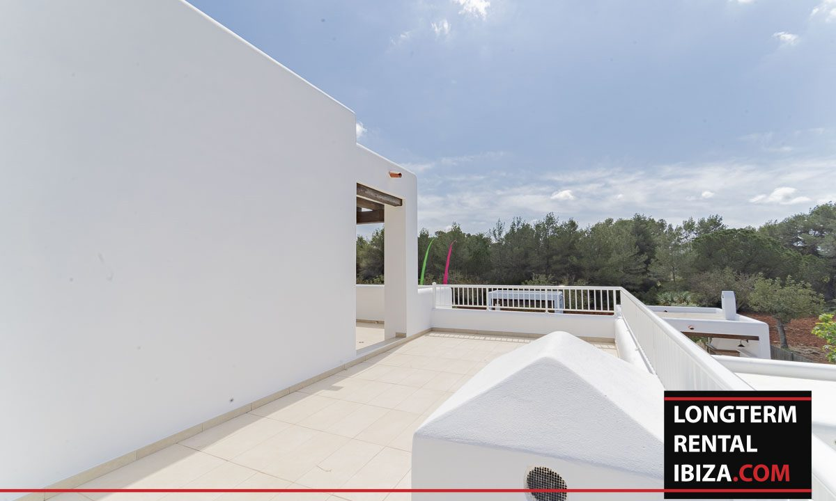 Long term rental ibiza - Villa Black 38