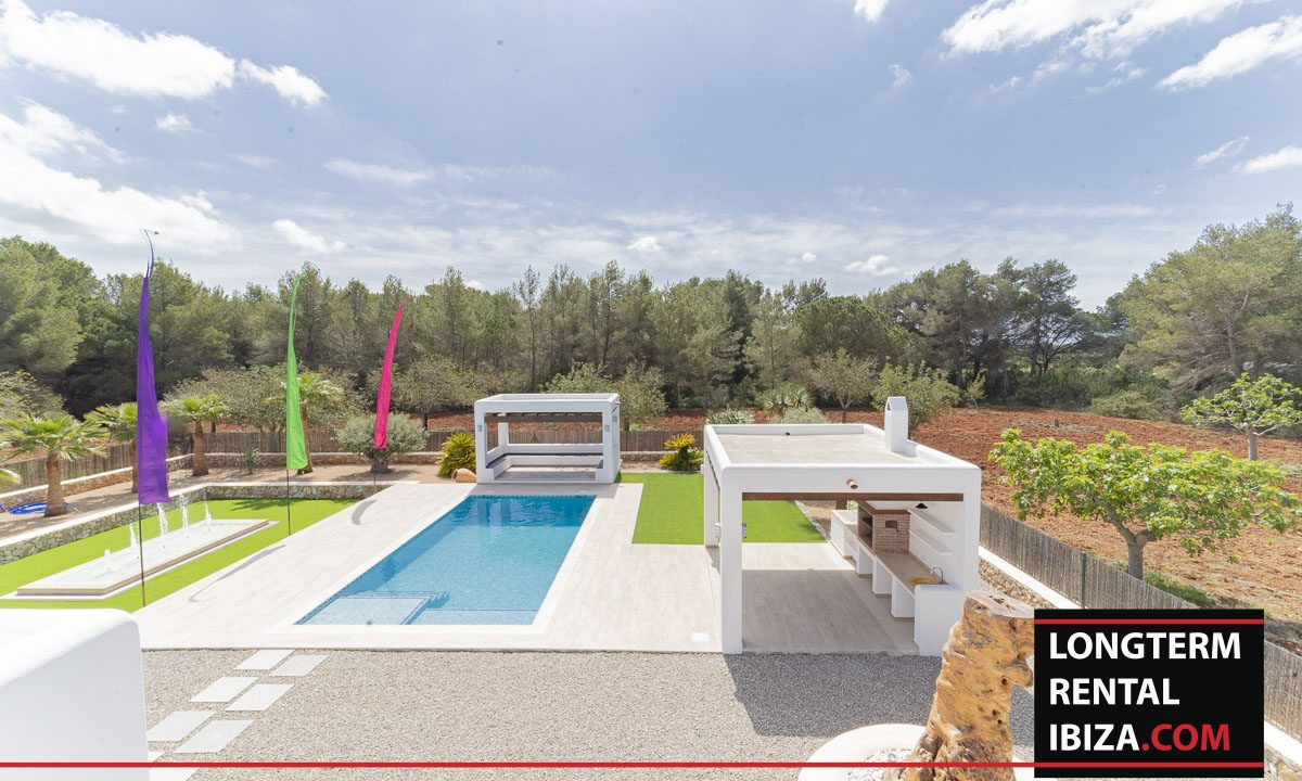 Long term rental ibiza - Villa Black 39