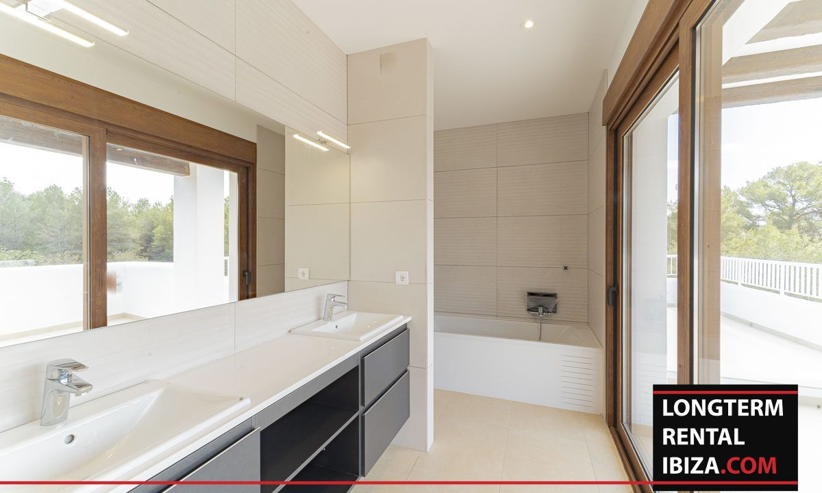 Long term rental ibiza - Villa Black 4