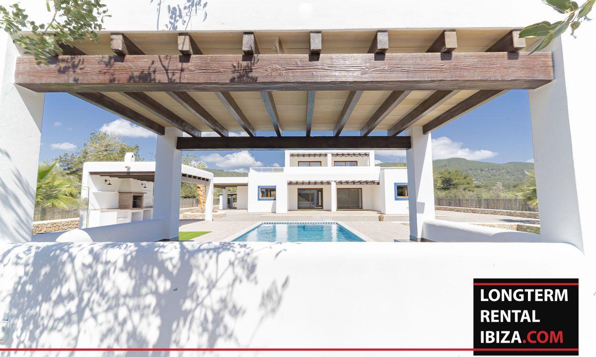 Long term rental ibiza - Villa Black 40
