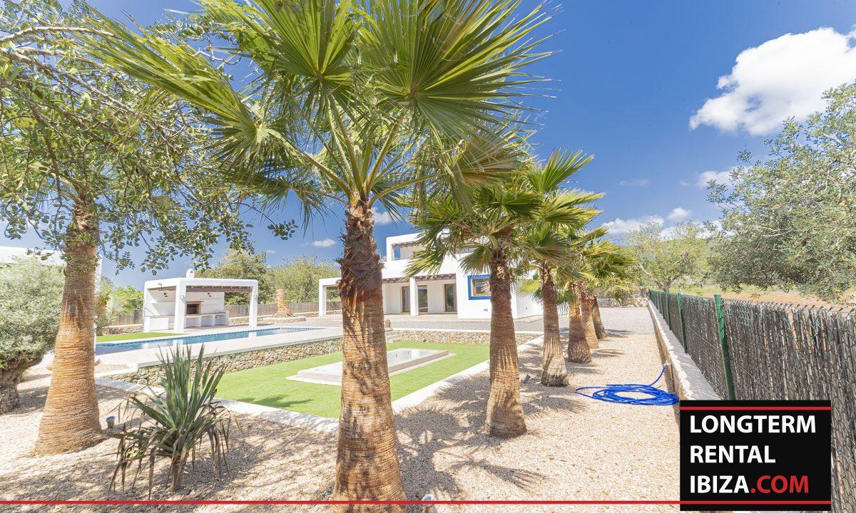 Long term rental ibiza - Villa Black 42
