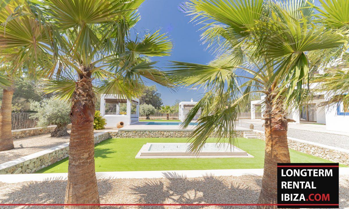 Long term rental ibiza - Villa Black 43