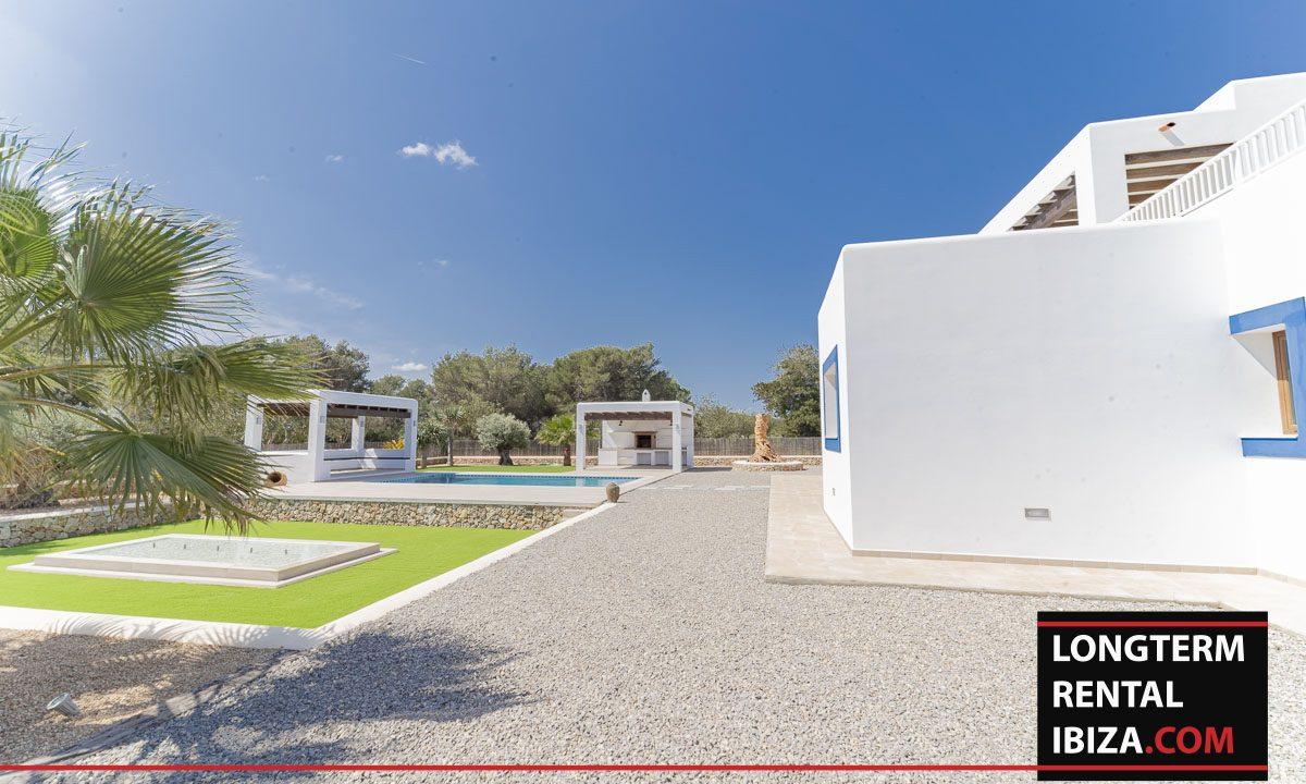 Long term rental ibiza - Villa Black 44