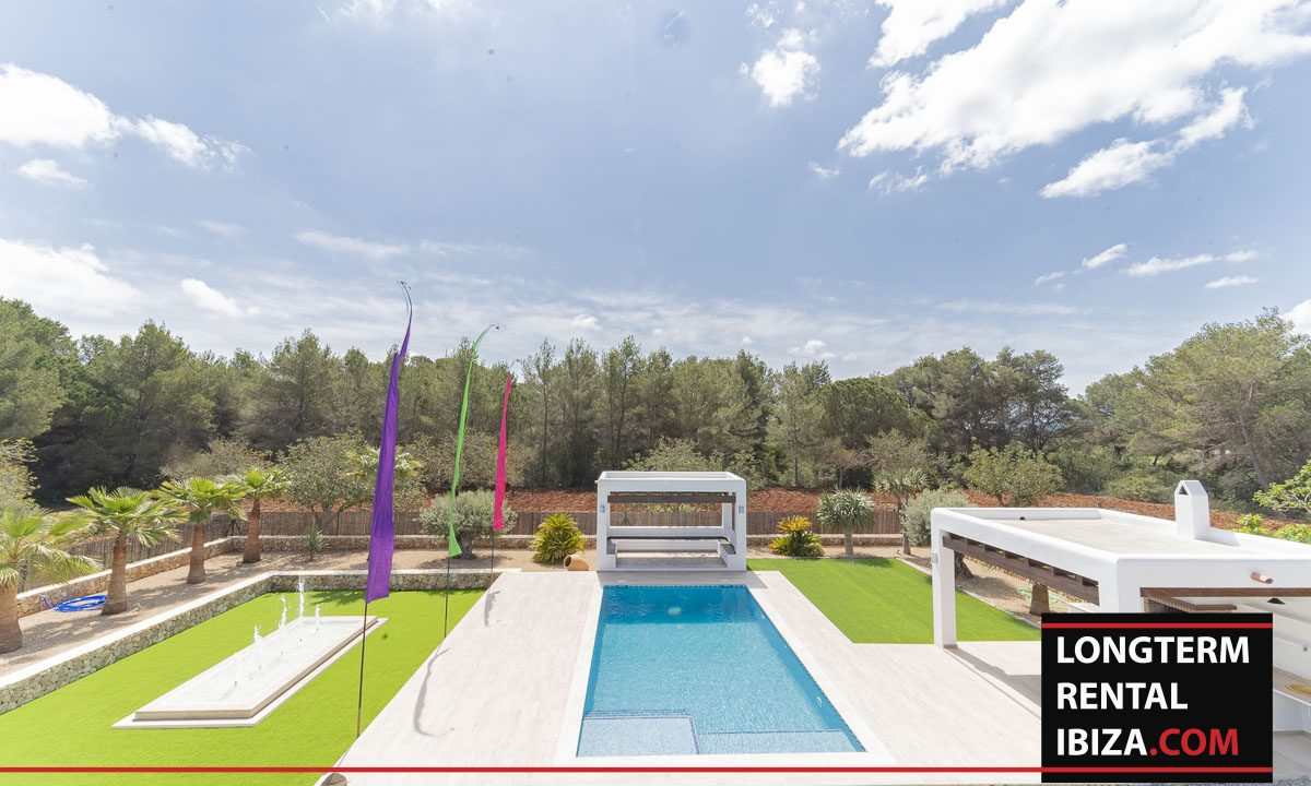 Long term rental ibiza - Villa Black 45