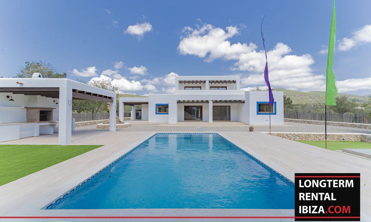 Long term rental ibiza - Villa Black 46