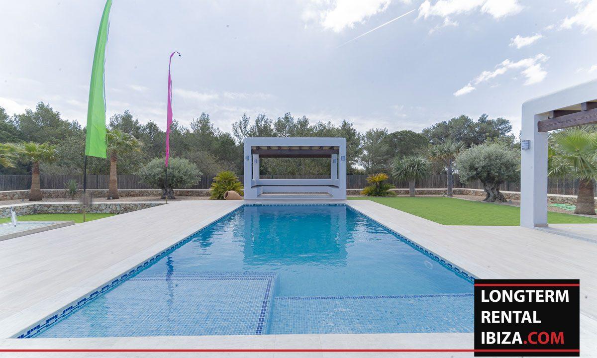 Long term rental ibiza - Villa Black 47