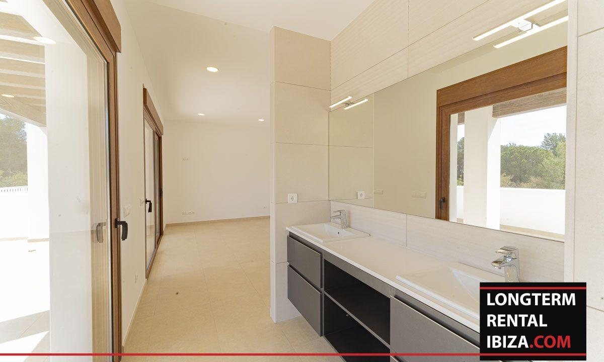 Long term rental ibiza - Villa Black 6